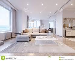 Modern Light Gray Living Room Modern White Gray Living Room Interior Design Stock