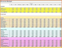 Bill Tracker Template Excel Monthly Expenses Spreadsheet Template Excel