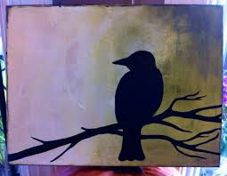 h the raven nevermore this could easily be done on a ceramic