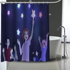 custom my hero academia shower curtain modern fabric bath curtains home decor curtains more size custom