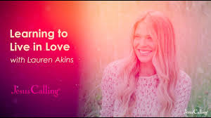 Live in Love with Lauren Akins - YouTube