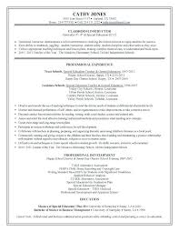 Example Resume For Teachers Unique Teacher Aide Sample Resume Colbroco