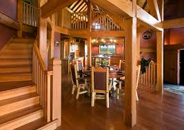open floor plans require less walls which consequently means less materials used this is a great way to keep your timber frame home cost