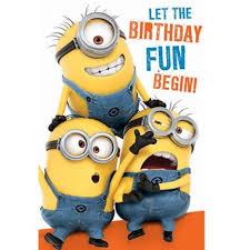 Minion Happy Birthday Clipart Image 9