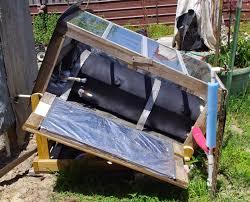 outdoor shower solar hot water heater