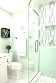 green bathroom best appealing bathrooms images on half seafoam accessories