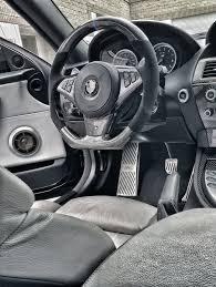BMW Convertible custom m6 bmw : Dinmann CF Steering Wheel   E6X M5 & M6   - with 300$ Refund ...