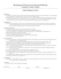 Ministry Resume Template Pastoral Resume Template Minister Of Music