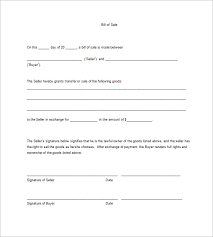 Bill Of Sale For Business Sample Business Bill Of Sale Form 6 Free Documents In Pdf Word The