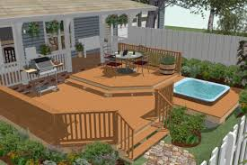 above ground pool with deck and hot tub. Above+Ground+Pool+Deck+Plans | How To Create A Deck Around Hot Tub -  Chief Architect Software Help Above Ground Pool With Deck And Hot Tub A