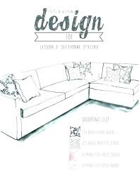 D Sofa Sizes Average Length Size Couch  Design Lesson 3 Sectional Styling Measurements In Meters