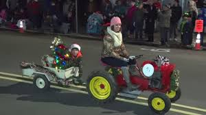 Lighted Tractor Parade Lighted Tractor Parade 2017