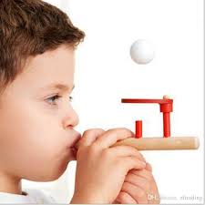 Blowing <b>Ball Magic Suspension</b> Wooden Puzzle Boys Girls Toys ...