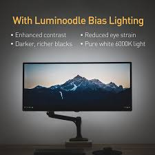 luminoodle led tv backlight usb powered led hdtv bias lighting for tv ambient lighting background lighting for tv ca electronics