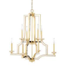 capital lighting fixture company abella capital gold eight light chandelier