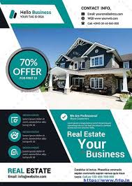 50 Best Real Estate Flyer Print Templates 2017 | Frip.in