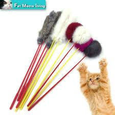 Plastic strip cat toy