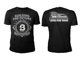 Contractor T Shirt Designs Upmarket Bold Contractor T Shirt Design For Beyond