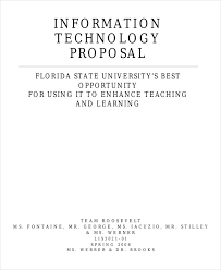 it business proposal it business proposal templates 8 free word pdf format download
