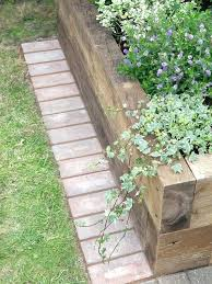 metal landscape edging ideas how to install a mowing strip of bricks timber garden metal landscape border ideas