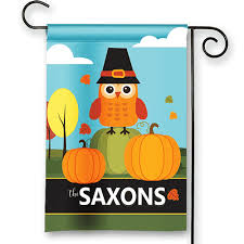 pumpkin patch owl personalized fall