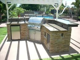 kitchen islands portable outdoor kitchen island stainless prefab cabinets grill garden medium size of storage