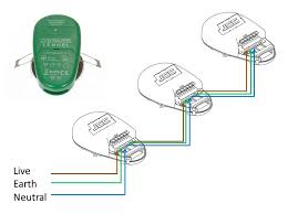 how to wire a light switch downlights co uk ecoled zep1 has push fit loop in loop out terminals on the terminals of its separate led driver the image below shows the jcc fgled6 wiring system