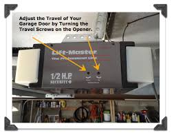 how to adjust garage door openerHow to Replace Garage Door Extension Springs  Guest Post Home