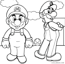 Luigi Mario Kart Coloring Pages Best Free And To Print Stockware
