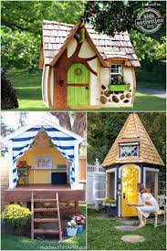 backyard dollhouse lovely 31 free diy playhouse plans to build for your kids secret hideaway