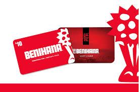 gift cards gift cards benihana flower logo