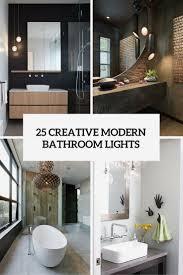 unique bathroom lighting. Bathroom Ideas: Unique Lighting Ideas Images Home Design Best In :