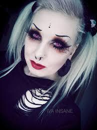 iva insane goth makeup eye makeup goth beauty hair beauty beauty