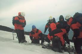 Resultado de imagen para rescatistas nieve san martin de los andes