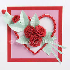 Paper Quilling Rose Flower Basket Innas Creations How To Fold A Rose Quilling