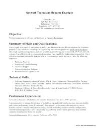 computer support technician resume network technician resume sample bitacorita