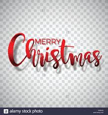 Pictures Of Merry Christmas Design Merry Christmas Typography Illustration On A Transparent Background