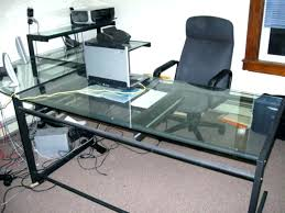 T shaped office desk furniture Space For Two Glass Shaped Office Desk Glass Shaped Office Desk Glass Top Shaped Office Desk Aigdoniame Glass Shaped Office Desk Shaped Office Desk Furniture Shaped