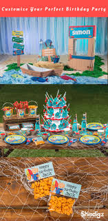 The Big One Birthday Party Supplies Fishing Themed Baby Shower