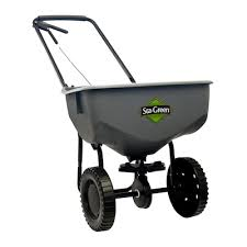 Sta Green Spreader Settings Conversion Chart Sta Green 32 Lb Broadcast Spreader At Lowes Com