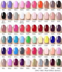 Nail Color Chart Venalisa Nail Manicure Supply Gel Polish Color Chart Display Soak Off Led Nail Gel Color Book