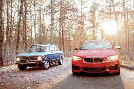 All BMW Models 2014 bmw m235i : Then vs. Now: 1972 BMW 2002tii Vs. 2014 BMW M235i - Automobile