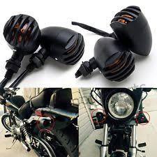 universal 12v cafe racer bobber chopper motorcycle turn signals