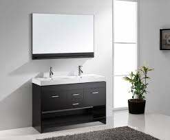 stylish modular wooden bathroom vanity. Virtu USA MD-423-C-ES Gloria 47-Inch Double Sink Bathroom Stylish Modular Wooden Vanity N
