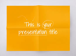 Paper Presentation Template