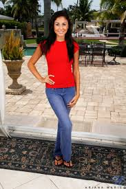 Teen Ariana Marie with Tattoo from Nubiles Wearing Jeans Image.