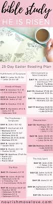 Easter Scripture Challenge 25 Day Bible Study Good Stuff