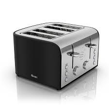 Retro Toasters swan 4slice retro toaster 1600 watt black amazoncouk 3468 by uwakikaiketsu.us