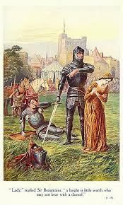 lady replied sir beaumains a knight is little worth who