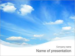 Clear Blue Sky Powerpoint Template Infographics Slides